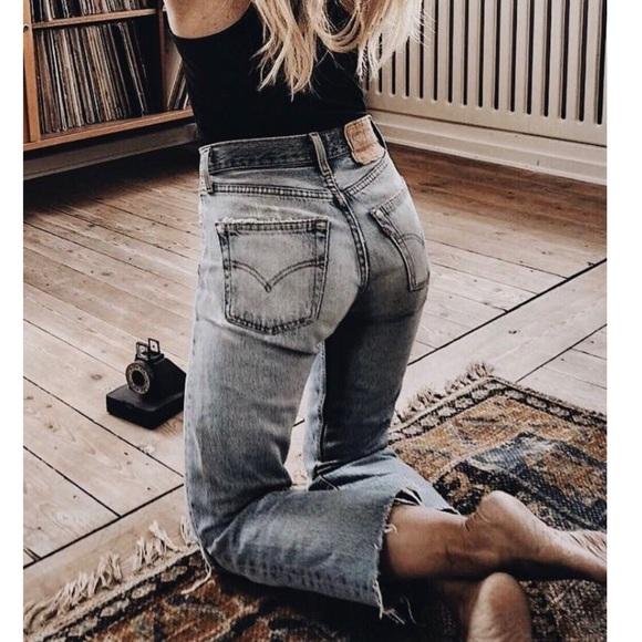 6ac41b36682 Levi's Jeans   Vintage Levis 517 Slim Fit High Rise Bootcut 28 ...